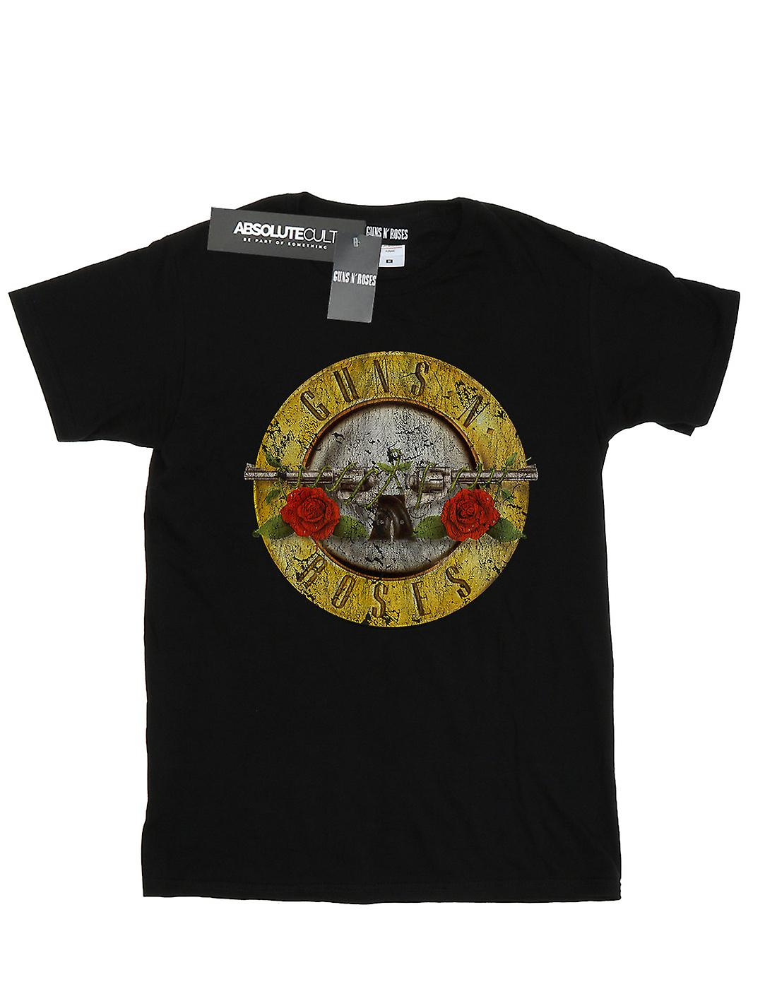 Guns N Roses Girls Vintage Bullet Logo T-Shirt