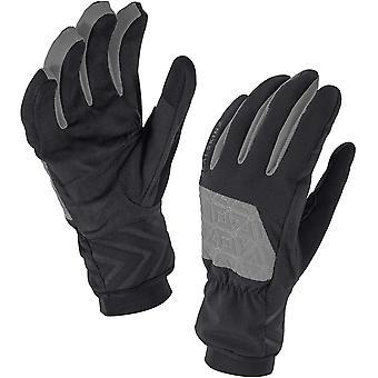 SealSkinz Helvellyn Glove - Black/Charcoal