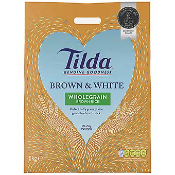 Tilda Easy Cook Brown and White Rice