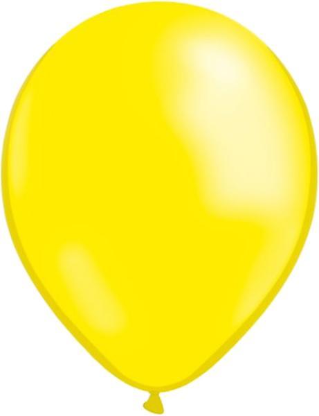 Folieballong Grattis + 10 gula & 10 blå latex