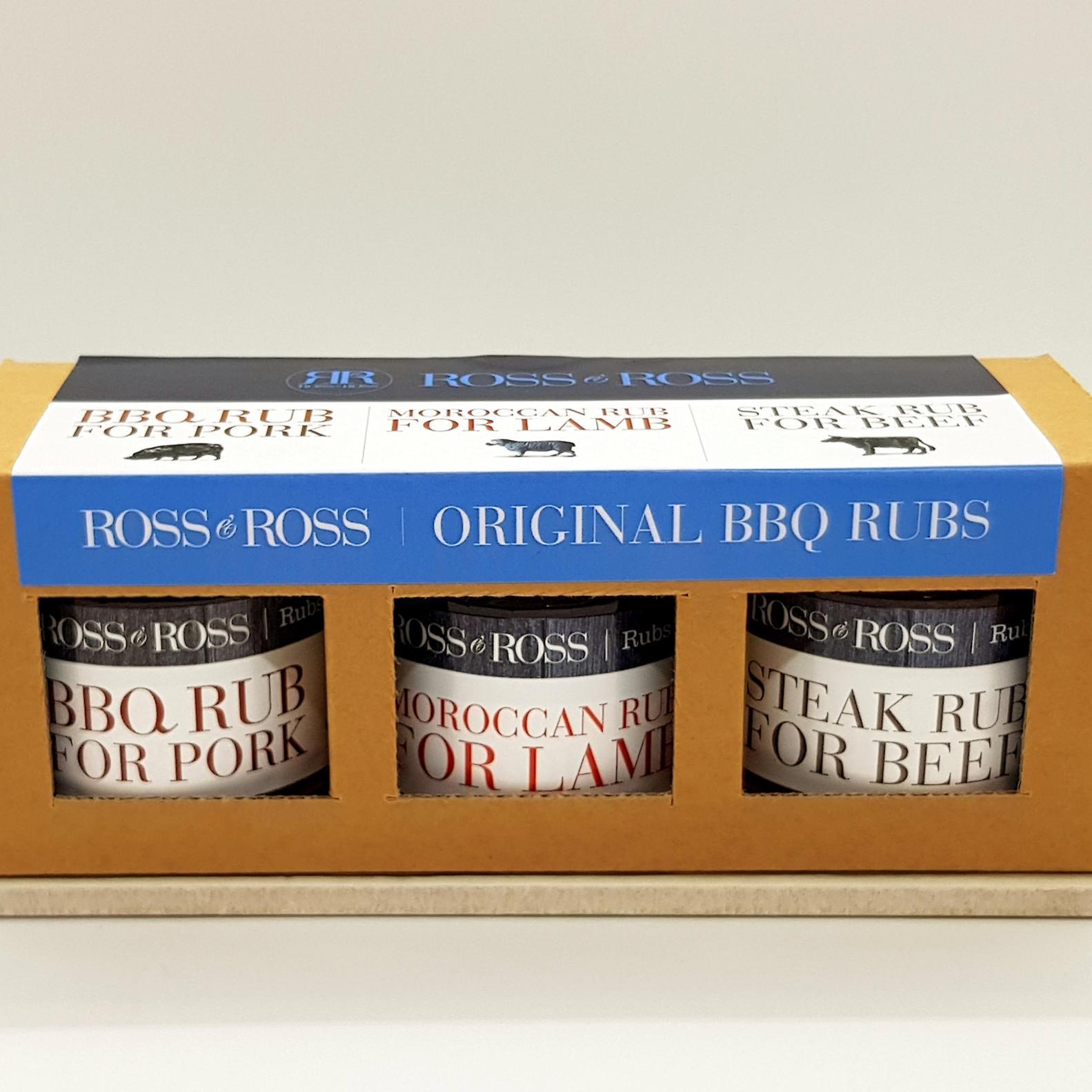 Trio BBQ Rubs original