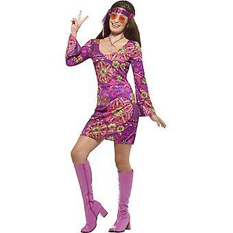 Woodstock Hippie Chick Kostüm