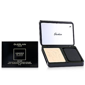 Lingerie De Peau Mat Alive Buildable Compact Powder Foundation Spf 15 - # 02c Light Cool - 8.5g/0.29oz