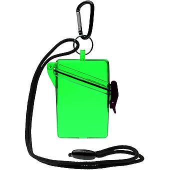 Witz houden duidelijk lichtgewicht waterdichte Sport Case - groen