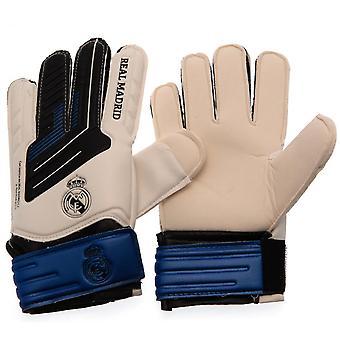 Real Madrid CF Junior Torwarthandschuhe