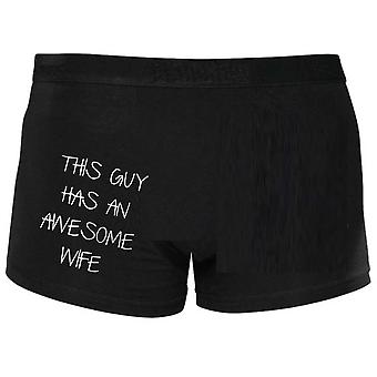 This Guy Has An Awesome Wife Boxers