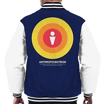 Anthropocentrism Philosophy Symbol Men's Varsity Jacket