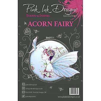Pink Ink Designs Acorn Fairy 12 Clear Stamp Set