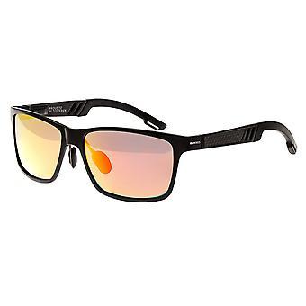 Raça Pyxis Titanium polarizada óculos de sol - preto/vermelho-amarelo