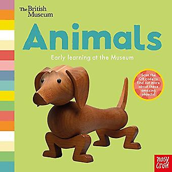 British Museum: Animals (Early Learning at the Museum) [Board book]