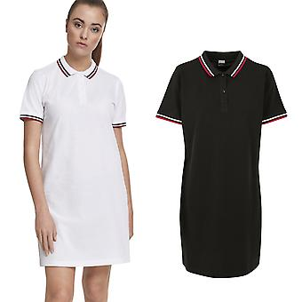 Urban classics ladies - Pique Polo summer dress