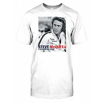 Steve Mcqueen - eine Leidenschaft für Geschwindigkeit Kinder T Shirt