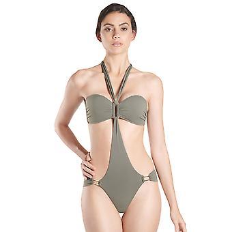 Aubade NV67 kvinder Esprit Sauvage Kaki grøn Trikini