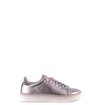 Lotto Ezbc139005 Women's Silver Leather Sneakers