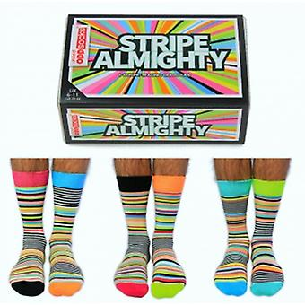 United Oddsocks Novelty Striped Socks