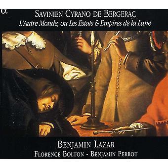 Savinien Cyrano De Bergerac - L'Autre Monde Ou Les Estats & Empires De La Lune [DVD] USA importere