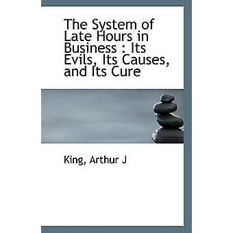 The System of Late Hours in Business - Its Evils - Its Causes - and It
