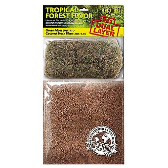 Exo Terra Tropical Forest Floor Dual Layer Small