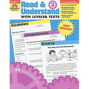 Read & Understand with Leveled Texts - Grade 3 by Jill Norris - Don R