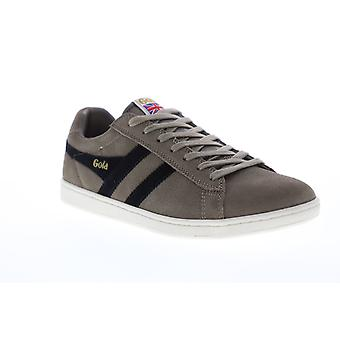 Gola Equipe Suede  Mens Gray Retro Lace Up Low Top Sneakers Shoes