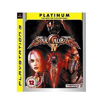 Soul Calibur IV 4 spil (platin) PS3-ny