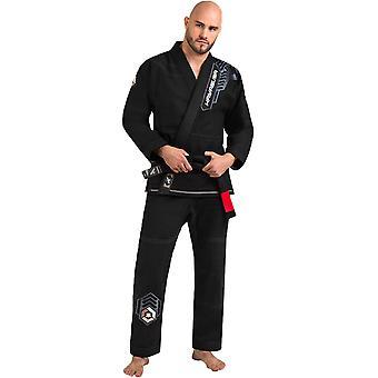 Hayabusa Gold Weave Warrior Premium Jiu-Jitsu gi-zwart
