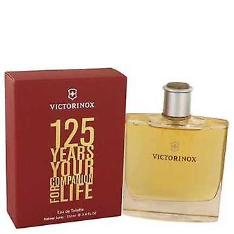 Victorinox 125 Years By Victorinox Eau De Toilette Spray (limited Edition) 3.4 Oz (men) V728-460718
