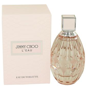 Jimmy choo l'eau eau de toilette spray by jimmy choo 536510 90 ml