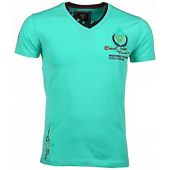 E T-shirts - Short Sleeves - Riviera Club - Green