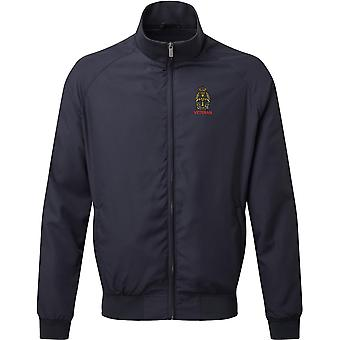 Queens Alexandra Royal Army Nursing Corps - Veteran - Licensed British Army Embroidered Harrington Jacket