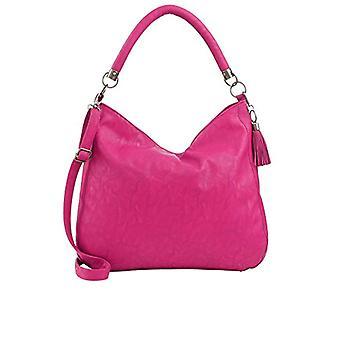 Fritzi aus Preu en HANNA Women's Shoulder Bag Rosa (Fuchsia 167/Saddle)) 11.5x36x36 cm (B x H x T)