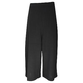 Crea Concept High Waisted Wide Leg Jersey Culottes