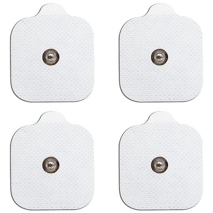 MED-FIT 5x5cm Pack of 16 Flexi Stim 3.5mm Stud TENS Self-Adhesive Pads