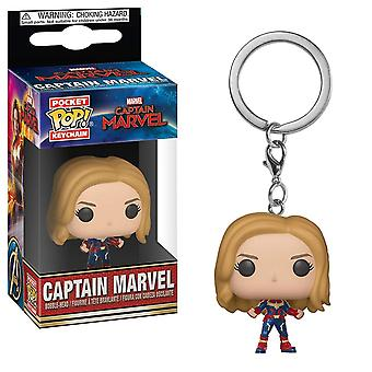Pop! Nøkkelringer: Marvel-Captain Marvel-kaptein Marvel