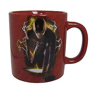 Flash TV Series Lightning Mondo 15oz Mug