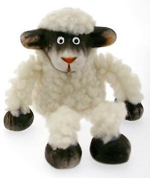 Black and White Sheep Shelf Sitter
