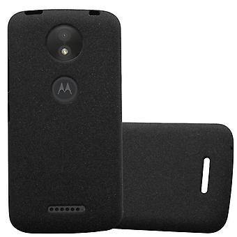 Cadorabo Case for Motorola MOTO C PLUS Case Cover - Mobile Phone Case made of flexible TPU silicone - Silicone Case Protective Case Ultra Slim Soft Back Cover Case Bumper