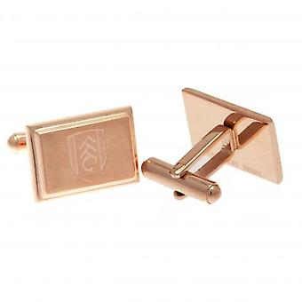 Fulham Rose Gold Plated Cufflinks