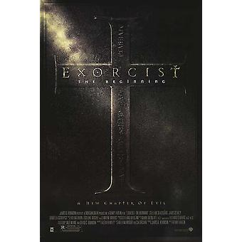 The Exorcist: The Beginning (Double Sided Regular) Original Cinema Poster (The Exorcist: The Beginning( Double Sided Regular) Original Cinema Poster