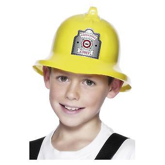 Accessoire de déguisements garçons pompier chapeau casque
