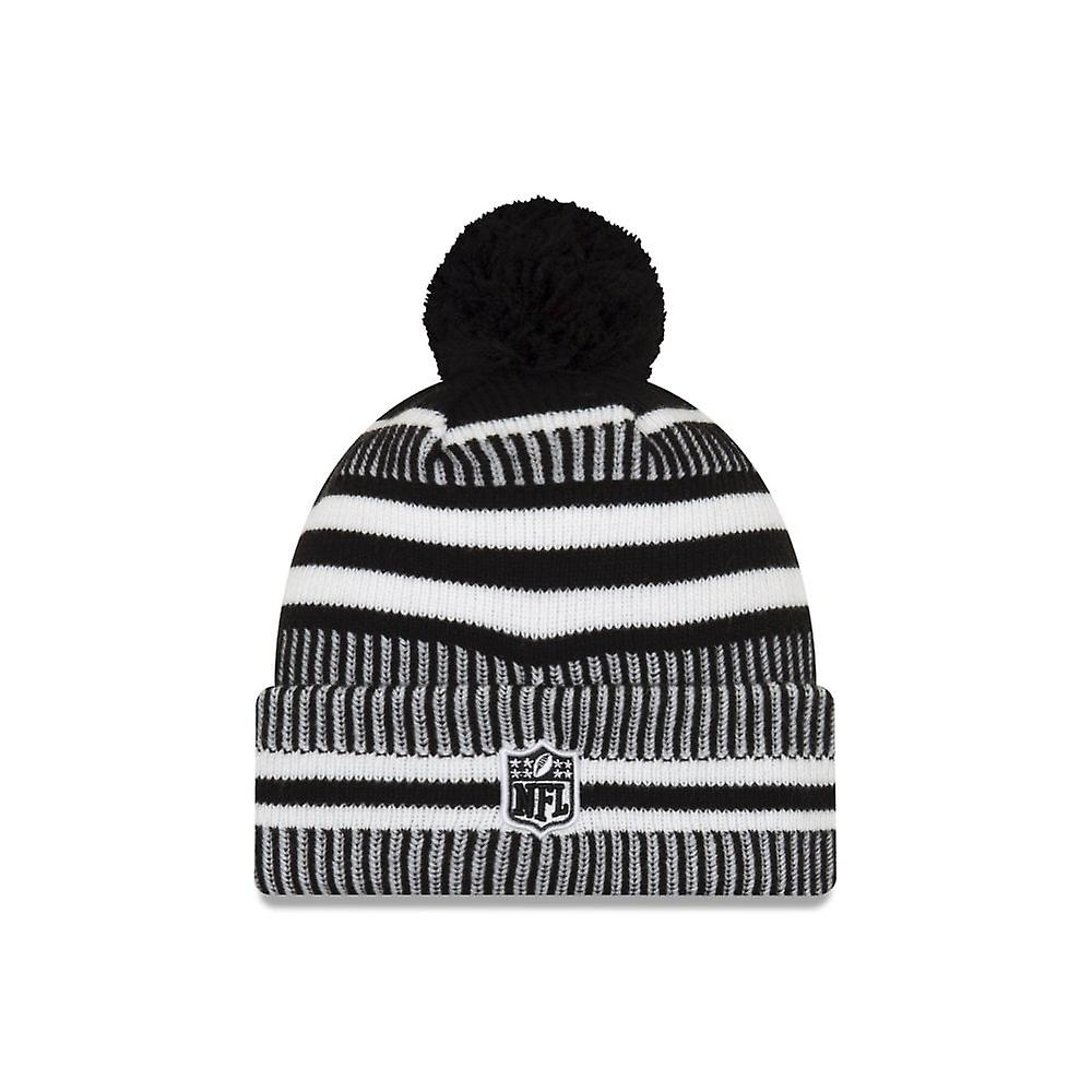 New Era Nfl Pittsburgh Steelers 2019 Sideline Home Black/white Sport Knit