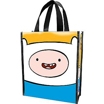 Tote bag-Adventure time-små genbrugs shopper hånd pung 13073
