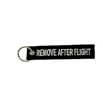 Porte Cles Tasti Rimuovere prima dopo volo Aviazione Aviazione Pilota Nero