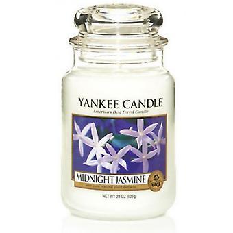 Yankee Kerze klassische große Jar Mitternacht Jasmin Kerze 623g