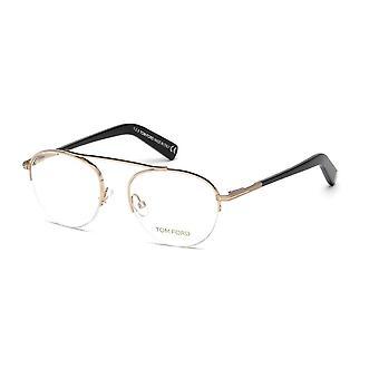 Tom Ford TF5451 028 Shiny Rose Gold Glasses