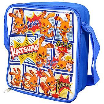 Moshi Monsters para niños/niños oficial Katsuma aislado bolsa de almuerzo