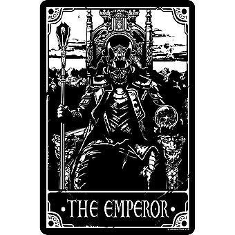 Deadly Tarot The Emperor Tin Sign