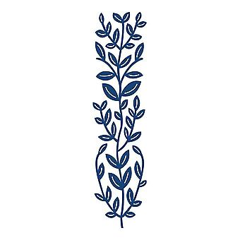 Tattered Lace Lily Leaf Border D546