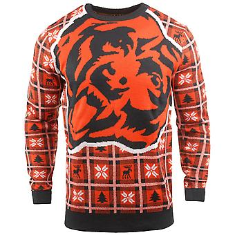NFL Ugly Sweater XMAS Knit Sweater - Chicago Bears