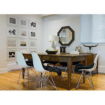 "17"" x 17"" Black, Sheepskin  - Seat/Chair Cover"
